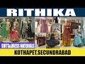 Rithika Suits and Dress Materials-Kothapet | Best Anarkali and Kurthi Store in Hyderabad