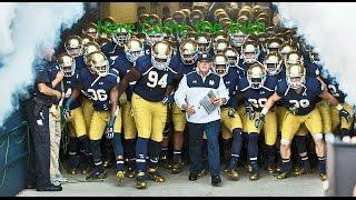 Notre Dame Football Pump up 2016-2017