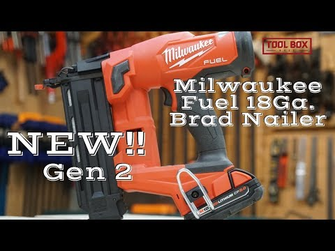 Milwaukee M18 FUEL 18-Gauge Brad Nailer 2746-20 Review - Gen 2 - What's New? thumbnail