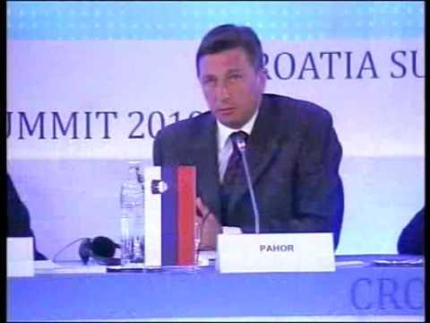 Opening Session - Borut Pahor, Prime Minister