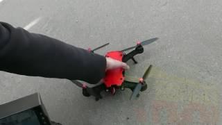 MJX BUGS 8 - первый запуск скоростного дрона с FPV камерой