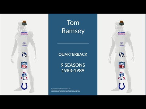 Tom Ramsey: Football Quarterback