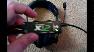 turtle beach x12 xbox 360 headset review