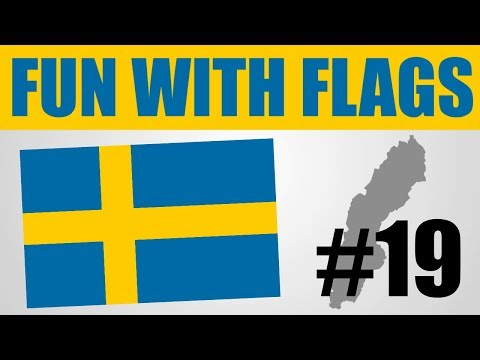 Fun With Flags #19 - Sweden's Flag