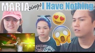 """Friends React to Maria singing """"I Have Nothing"""" 
