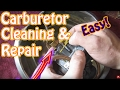 How to Disassemble and Clean a Mikuni Carburetor - DIY Snowmobile, Mower, ATV Carburetor Repair