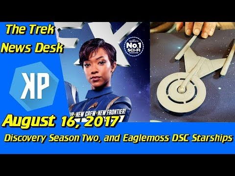 Thumbnail: Star Trek: Discovery Season 2, and Eaglemoss Starship Previews