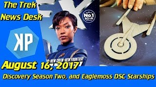 Video Star Trek: Discovery Season 2, and Eaglemoss Starship Previews download MP3, 3GP, MP4, WEBM, AVI, FLV Agustus 2017