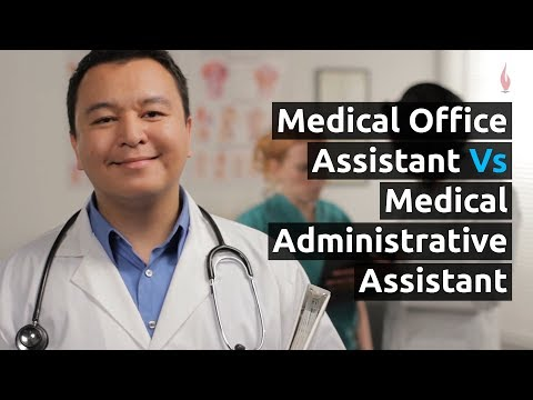Medical Office Administration (MOA) Vs Medical Assistant (MA)