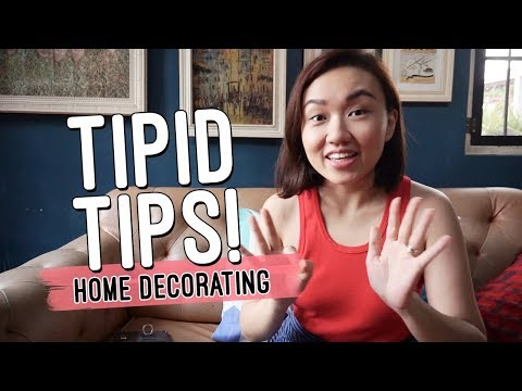 Tipid Tips on Home Decorating // Low Cost Home Design Ideas // by Elle Uy