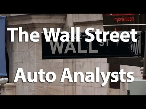 The Wall Street Auto Analysts - Autoline This Week 2117