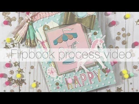 Maggie Holmes Carousel flipbook process