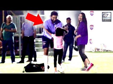 Aaradhya Bachchan Runs To HUG Daddy Abhishek, Will Melt Your Heart   LehrenTV