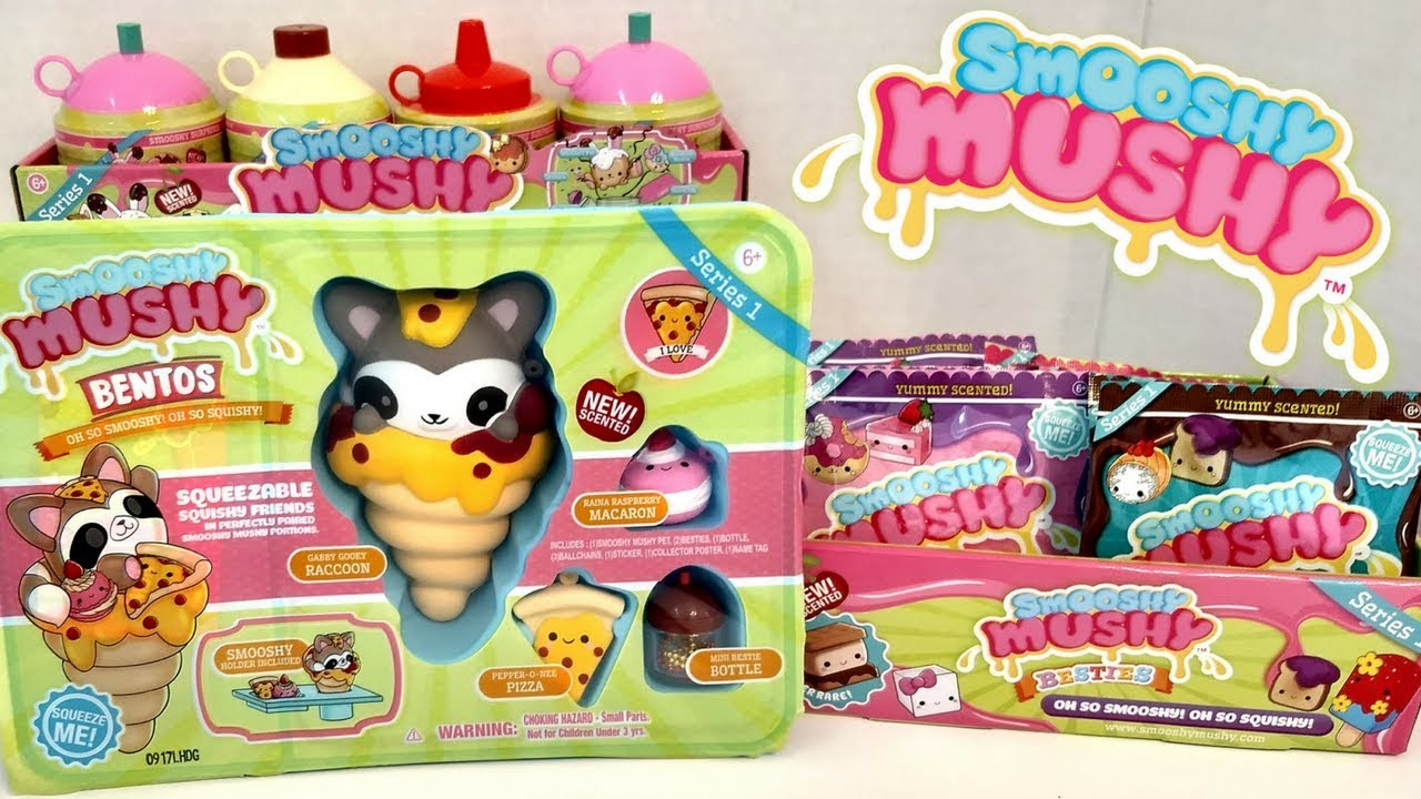 Squishy Mushy Box : Smooshy Mushy Bento Box Pet Besties Scented Slow Rise Squishy Squish Skwish Toys Toy Hunt ...