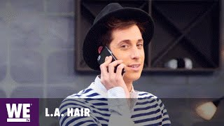 L.A. Hair | Is Anthony a Snitch Ready to Start Some Sh*t? | WE tv