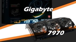 gigabyte amd radeon hd 7970 windforce 3x review