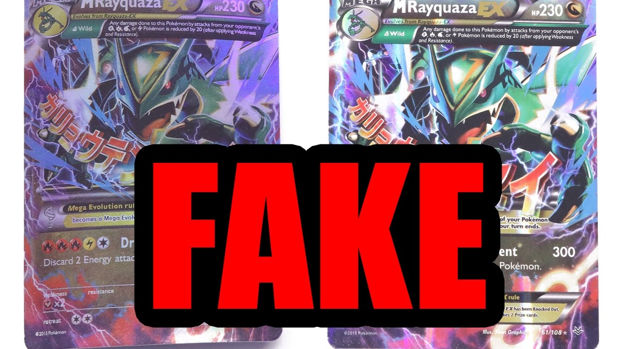 do not buy pokemon cards from amazon or ebay easy how to spot fake youtube - Places To Sell Pokemon Cards Near Me