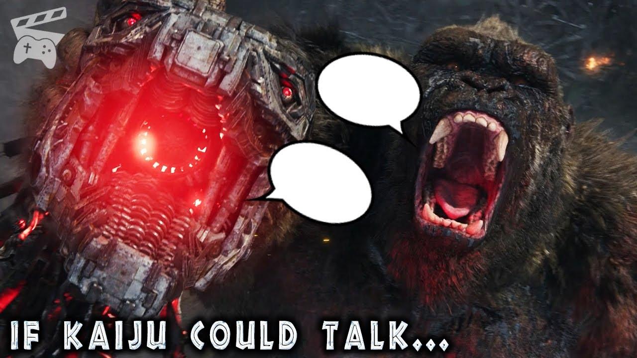 Download If Kaiju in Godzilla vs Kong Could Talk