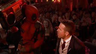 Ryan Reynolds' Win Celebrated by Dancing Deadpools & Salt N Pepa at 2016 MTV Movie Awards