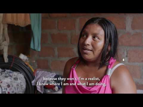 """""""The wrong neighbor"""" - The story of a Wayuu mother standing up against the coal mine Cerrejón"""