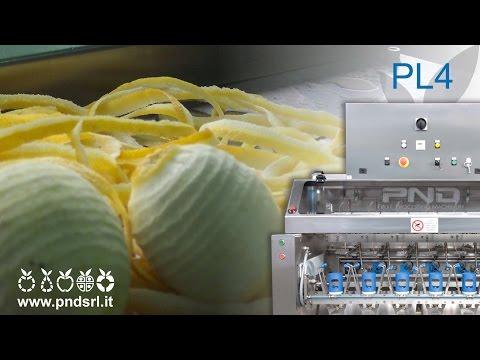 Lemon skin peeling mod. PL4 // ZEST MACHINE for LIMONCELLO!!