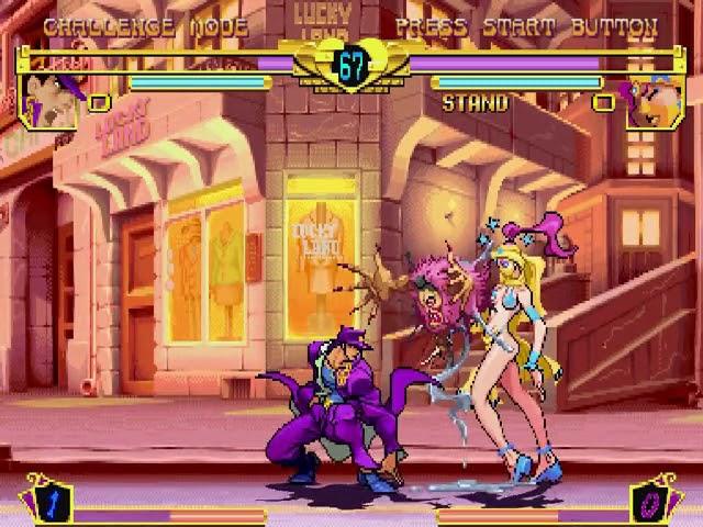 Jouez à Jojo's Bizarre Adventure sur Sega Dreamcast