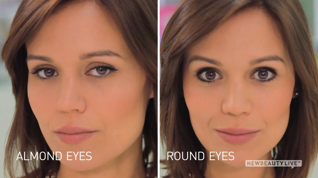 Makeup for small almond eyes