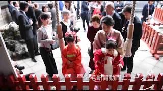 子どもたち 晴れ着姿で 七五三 シーズン迎え前橋産泰神社に行列