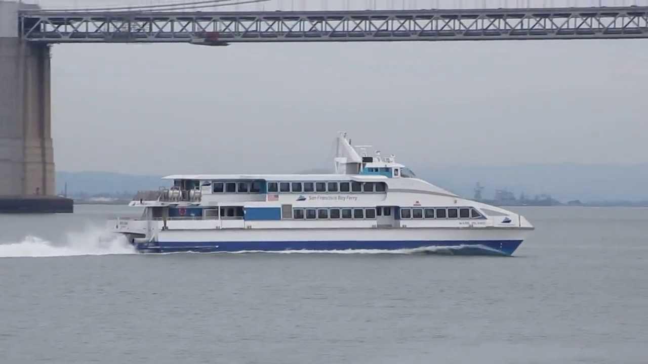 San Francisco Bay Ferry Mare Island From Vallejo To San Francisco California
