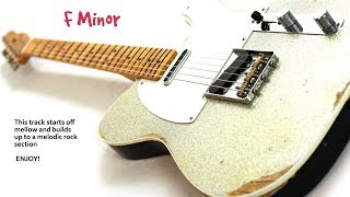 Experimental Rock Backing Track F Minor