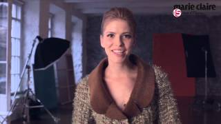 Елена Перминова в фотосесси для Marie Claire 2012