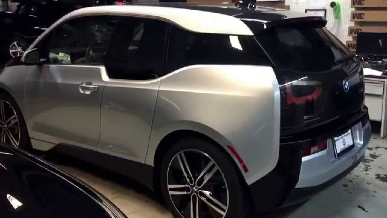Bay Area BMW i3 Tinted Windows - YouTube