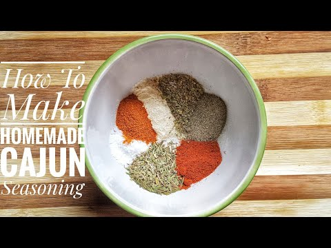 HOMEMADE CAJUN SPICE SEASONING - Nairobi Kitchen