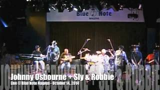 Johnny Osbourne + Sly & Robbie Live in Blue Note Nagoya October 14, 2014