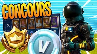 "LIVE FORTNITE CONCOURS - I OFFER A FREE SKIN"" PART PERSONALIZED EN PART PERSO GAME ABOS"