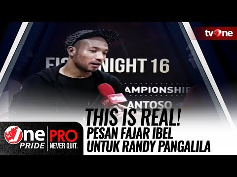 Pesan Fajar Ibel untuk Randy Pangalila: This is Real! Mp3