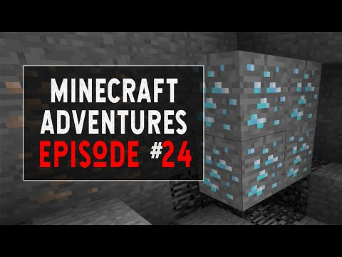 Learn How to Mine and Find Diamonds in Minecraft - Episode 24
