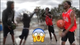 BASKETBALL 1V1 IRL VLOG 4!! | Playing in Extremely Cold Weather!!