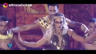 Showmatch 2017 - Mica Viciconte Bailó el Ritmo libre como una Diosa Egipcia, pero no Convenció.