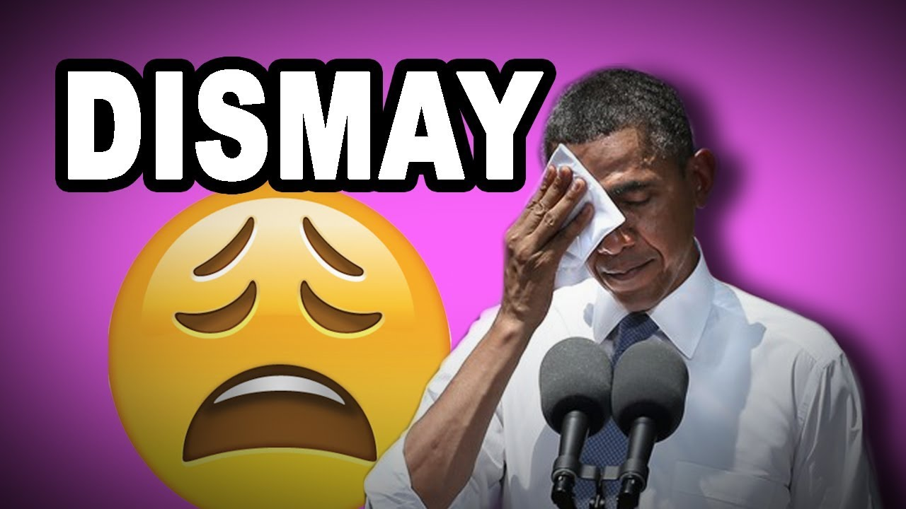 Learn English Words: DISMAY - Meaning, Vocabulary with ...