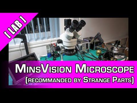 [The Lab] MinsVision Trinocular MicroScope (from Strange Parts)