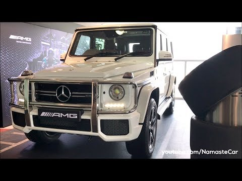 Mercedes-Benz G-Class G 63 AMG 2017   Real-life review