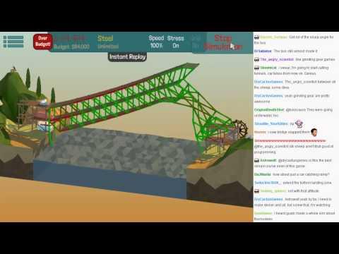 MonotoneTim Poly Bridge! Engineers need not apply