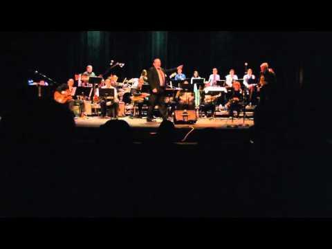 Merced College Jazz Ensemble, Gospel John by Jeff Steinberg, arranged by Al Mannon, Dec 2015