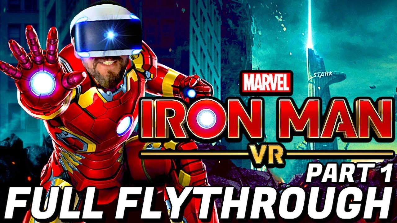 Marvel's Iron Man VR Full Flythrough Part 1 on Playstation VR