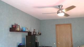 видео потолочный вентилятор люстра
