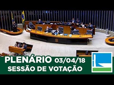 PLENÁRIO - Sessão Deliberativa - 03/04/2018 - 13:56