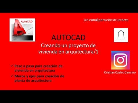 proyecto-de-vivienda-en-arquitectura-con-autocad-paso-a-paso/parte1
