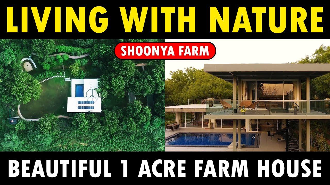 Beautiful 1 Acre Farm House   Shoonya Farms   Organic Regenerative Farming   Sustainable Farming