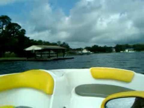 Cinco Bayou Water Test Sea Doo